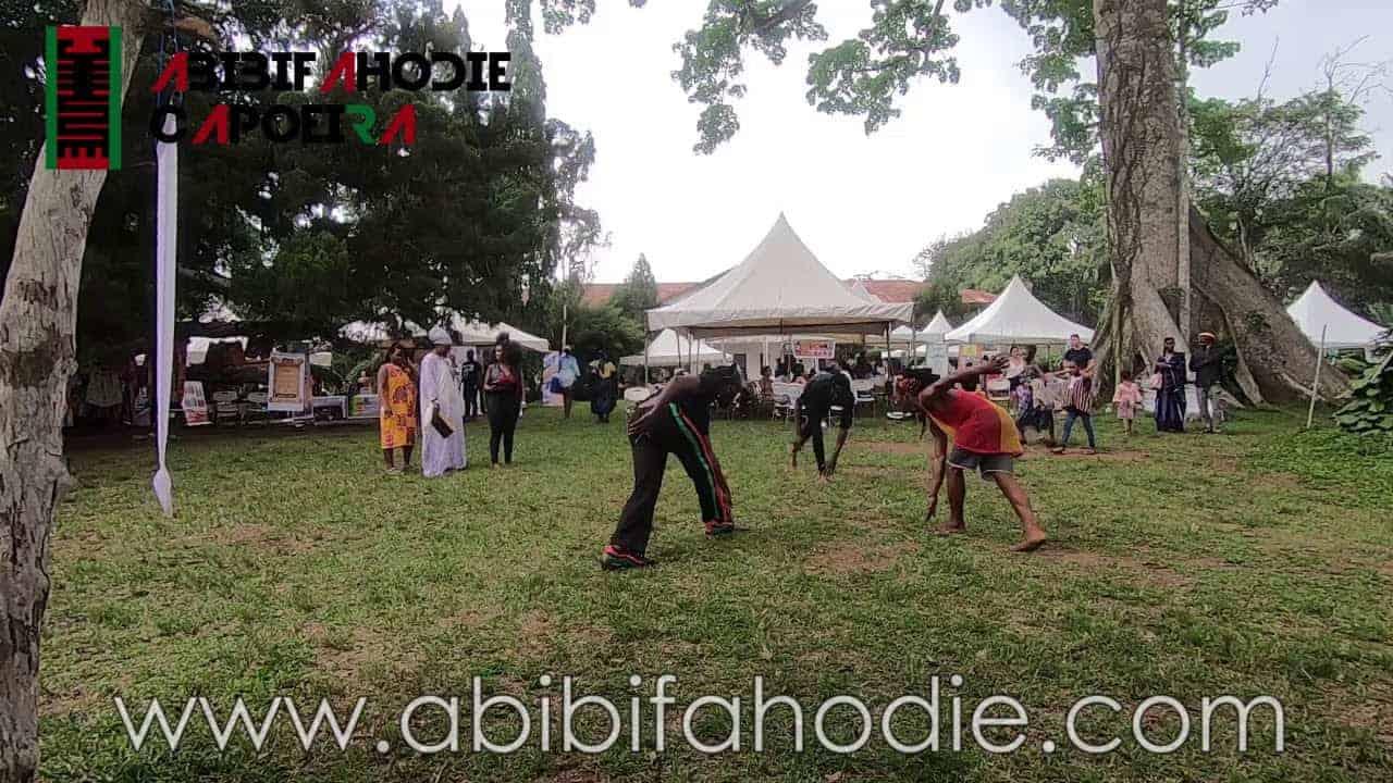 Abibifahodie Capoeira at Afrikan Culture and Wellness Festival Feb. 9, 2019