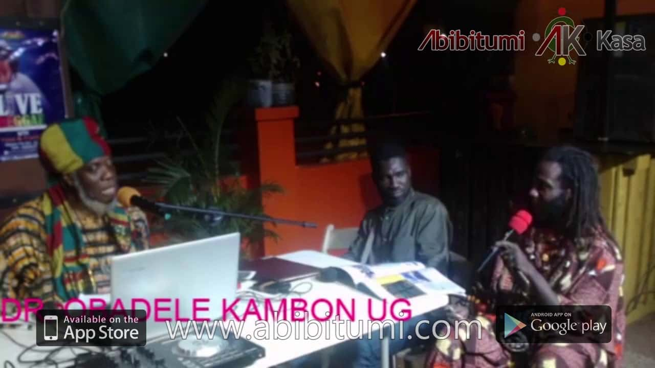 "[Clear Audio] Mutabaruka Interviews Dr. Ọbádélé Kambon on ""400 years"" and Year of Return"