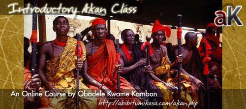 Introductory Akan (Twi) Classes