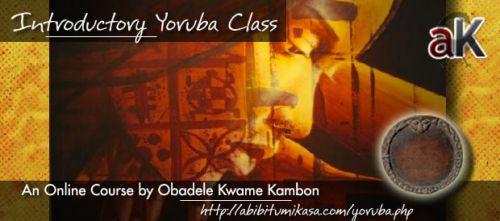 Introductory Yoruba Classes