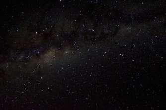 Loin de toutes sources de lumière, le ciel est magique