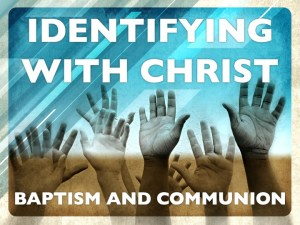 IDENTIFYING WITH CHRIST
