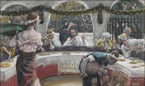 James Tissot-The Meal in the house of the pharisee