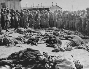 Eisenhower at Ohrdruf Concentration Camp