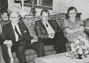 Dec 1968 RG and Evelyn LeTourneau with Billy Graham