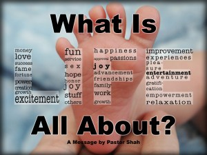 What Is Life All About-