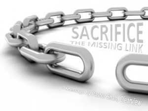 Sacrifice The Missing Link