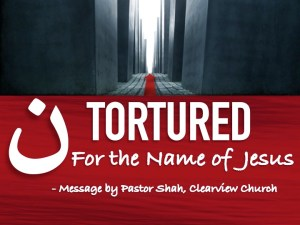 TORTURED FOR THE NAME OF JESUS