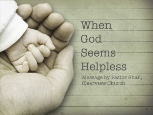 When God Seems Helpless