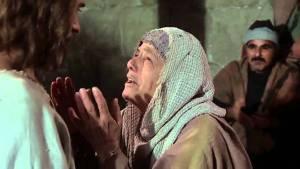 Jesus healed women