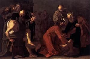 Christ Washing the Apostles Feet by Dirck Van Baburen