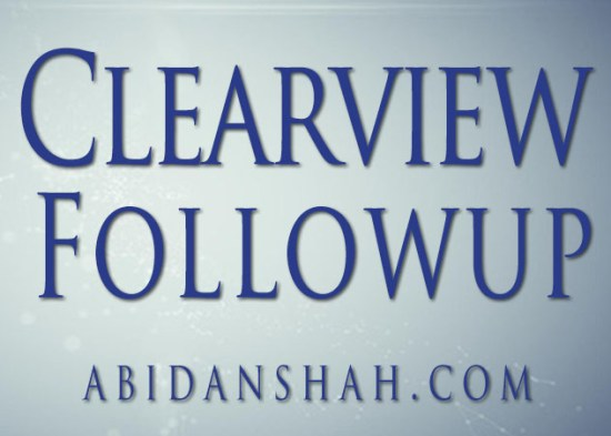 Clearview Followup