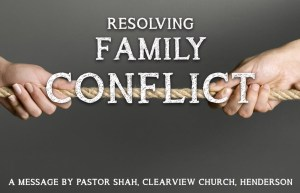 Resolving Family Conflict