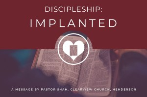 Discipleship Implanted