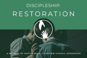 Discipleship Restoration