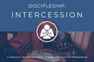 Discipleship Intercession
