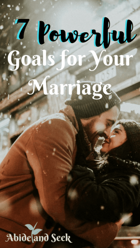 7 Powerful Goals For Your Marriage picture