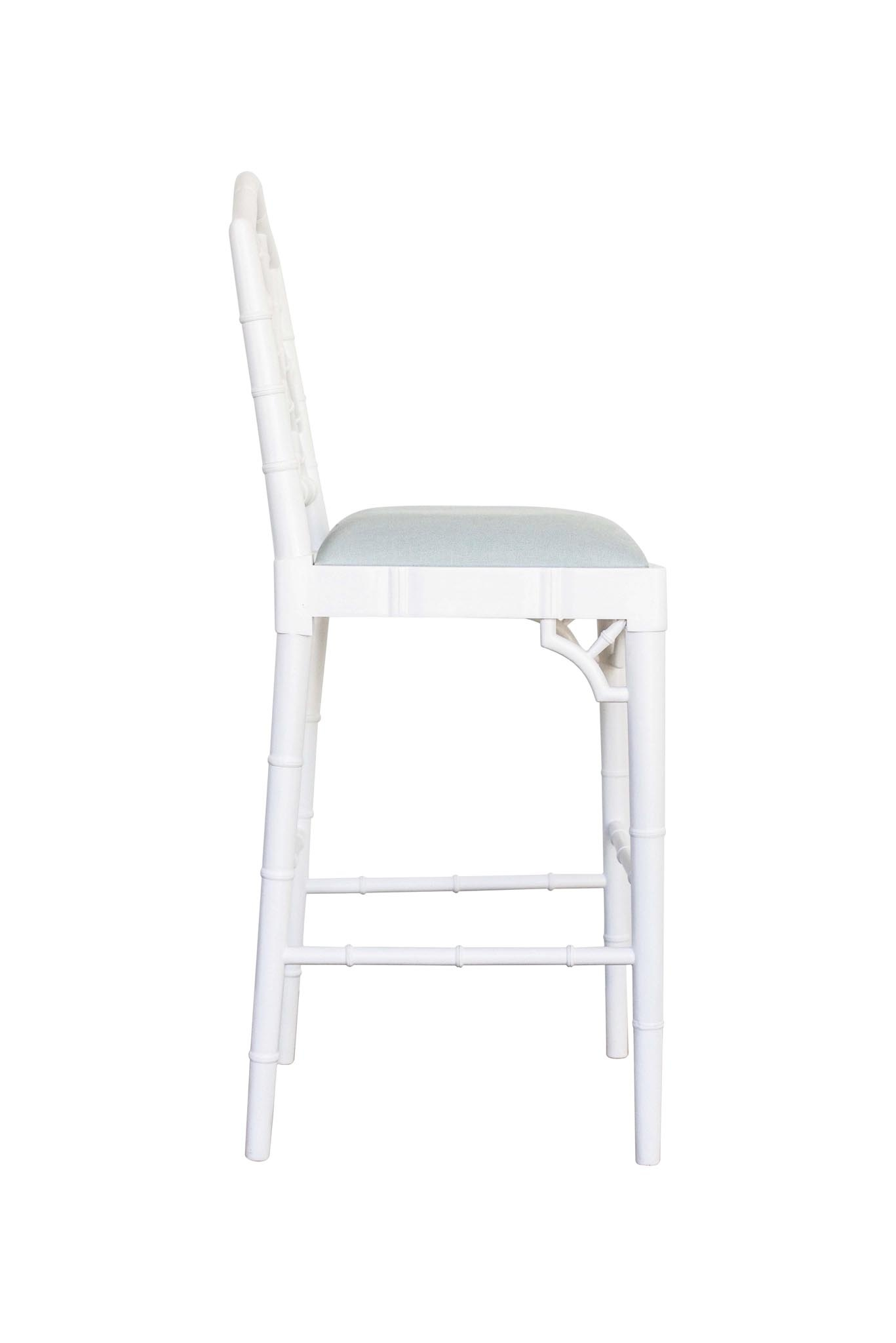 Chippendale Counter Stool White Abide Interiors