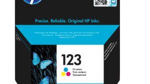 Hp 123 Tri-color Inkjet Cartridge