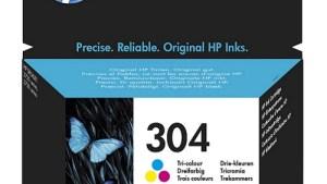 Hp 304 Tri-color Inkjet Cartridge