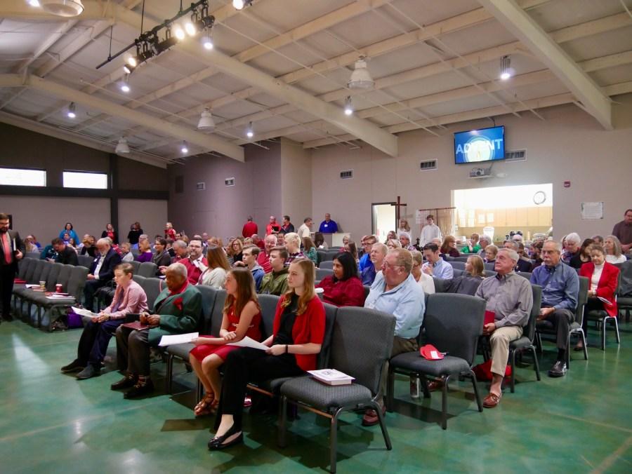 Congregation at Sunday Worship   Abiding Grace Lutheran Church