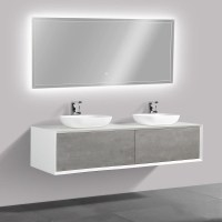 Badmöbel Günstig Online Kaufen Moderne Badezimmermöbel von Aufsatzwaschbecken Mit Unterschrank ...