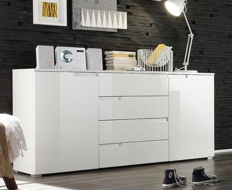 Kommode Weiß Hochglanz 120 Cm Breit 2021