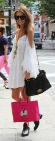 open shoulder dresses