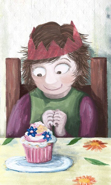 Maggie's cupcake
