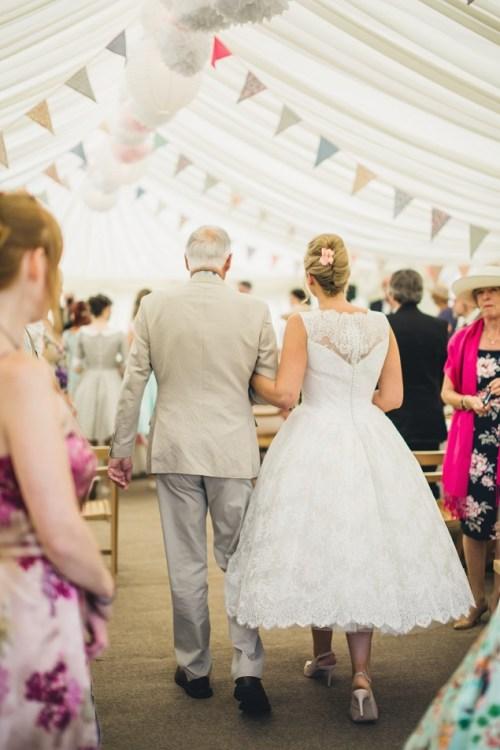 Summer vintage wedding