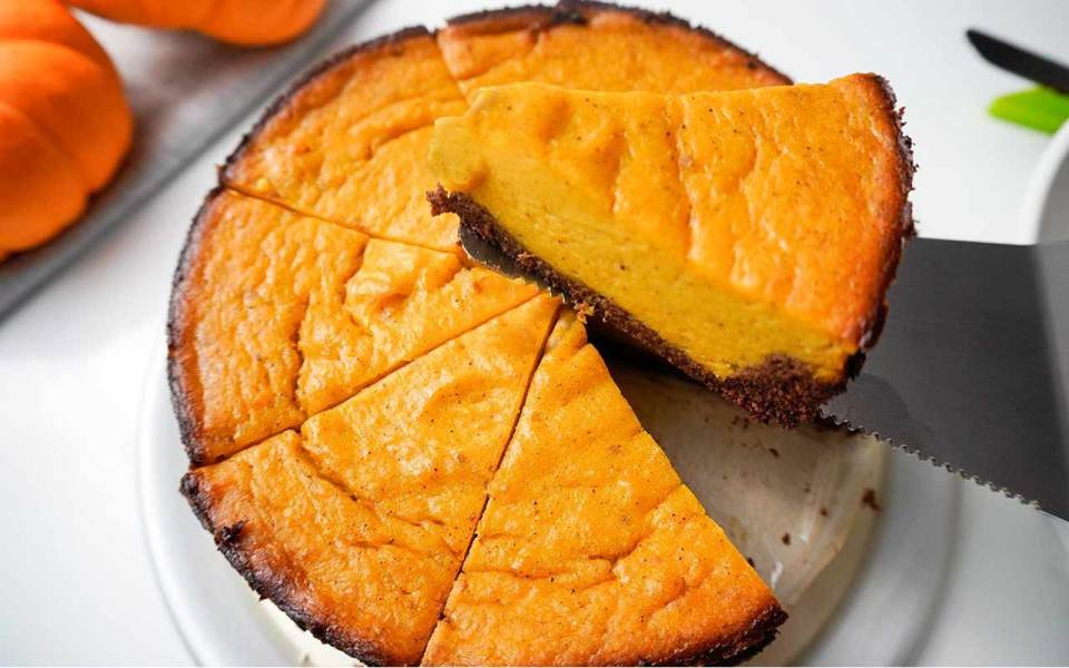 Low Carb Keto Pumpkin Pie