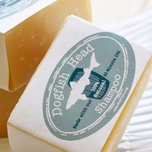 Beer Shampoo bar from Dogfish Head