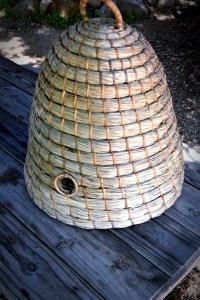 beehive hanging basket