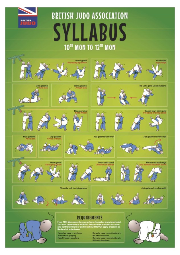 Grading Syllabus | Abingdon Judo Club