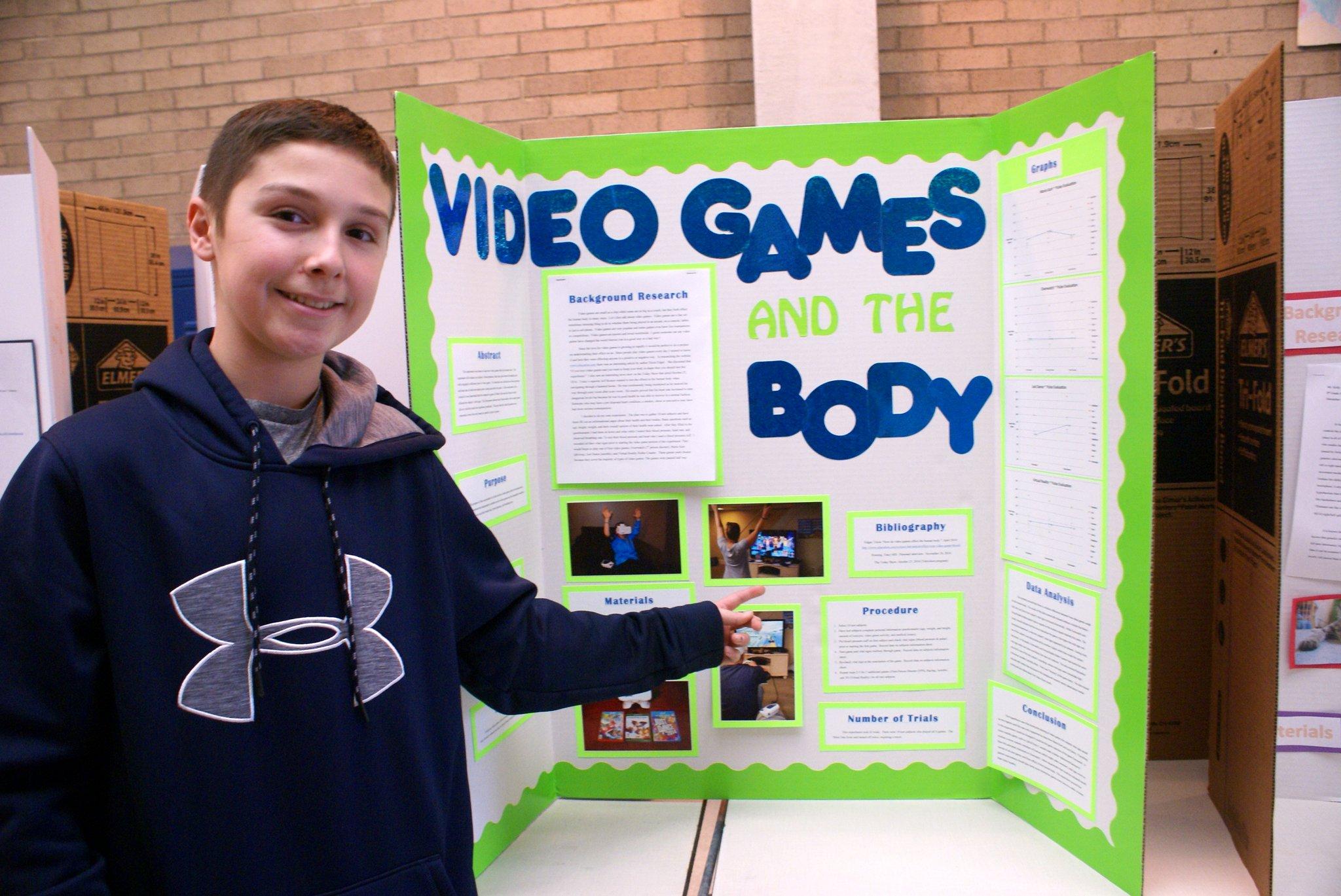 Junior High School Science Fair Spotlights Scientific