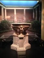 Fountain for the wealthy garden