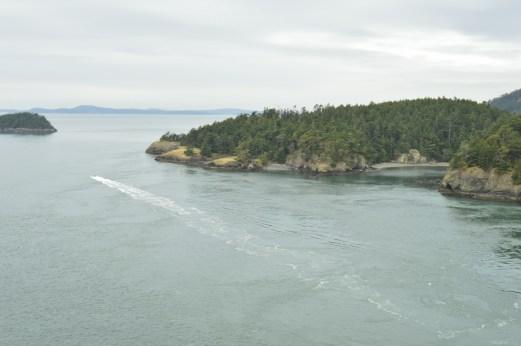 Strait of Juan de Fuca to the Pacific Ocean