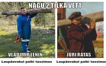 Ratas ja Lenin palgiga
