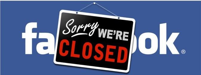 Facebook closed