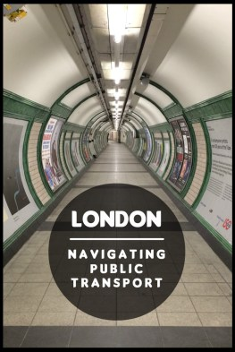 how to navigate public transport on the tube subway London underground how to guide to get around London city