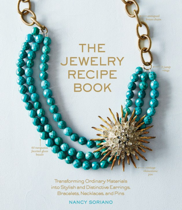 COVER. The Jewelry Recipe Book Hi Res