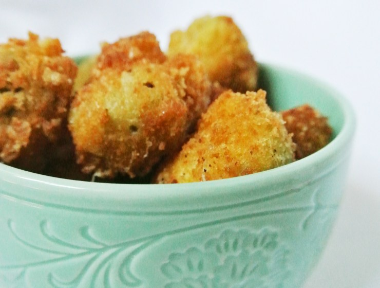 Parmesan & Cauliflower Bites - A Bird with a French Fry