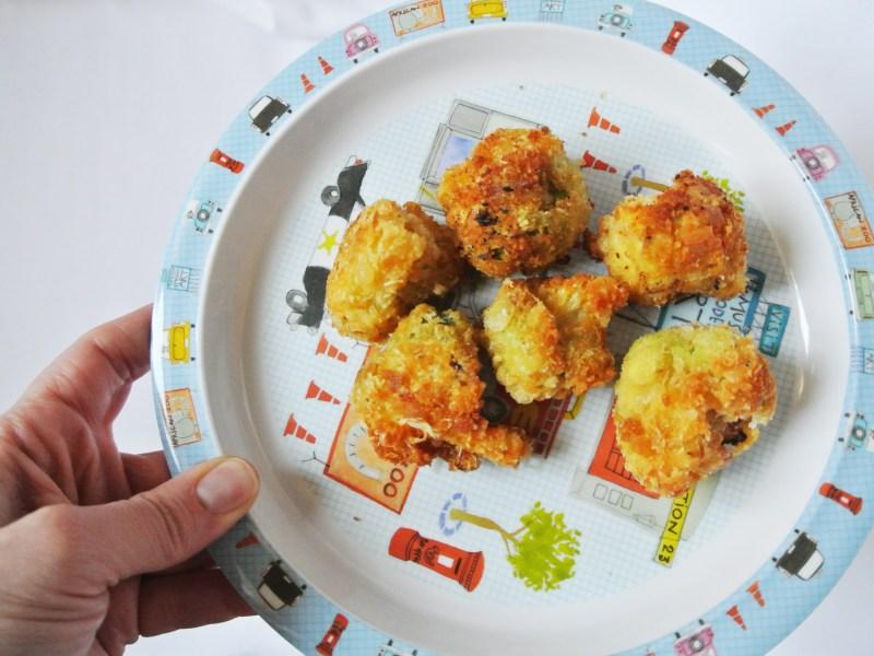 Parmesan & Cauliflower Bites - A Bird with a French Fry