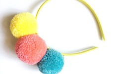 Pom Pom Headbands - A Bird with a French Fry