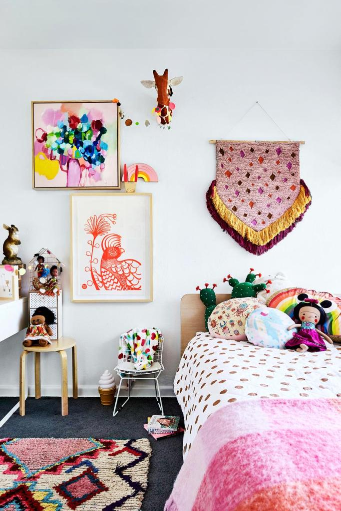 Fun Ideas For Your Kids' Bedrooms - A Bird with a French Fry