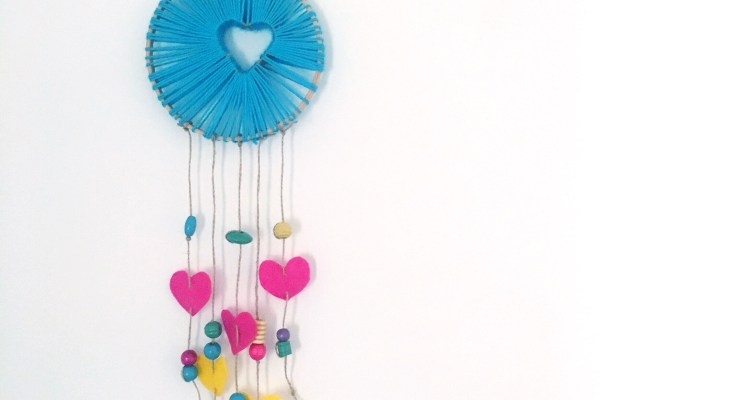 DIY Valentine's Day Dream Catcher - A Bird with a French Fry