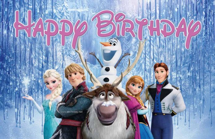 Frozen Happy Birthday