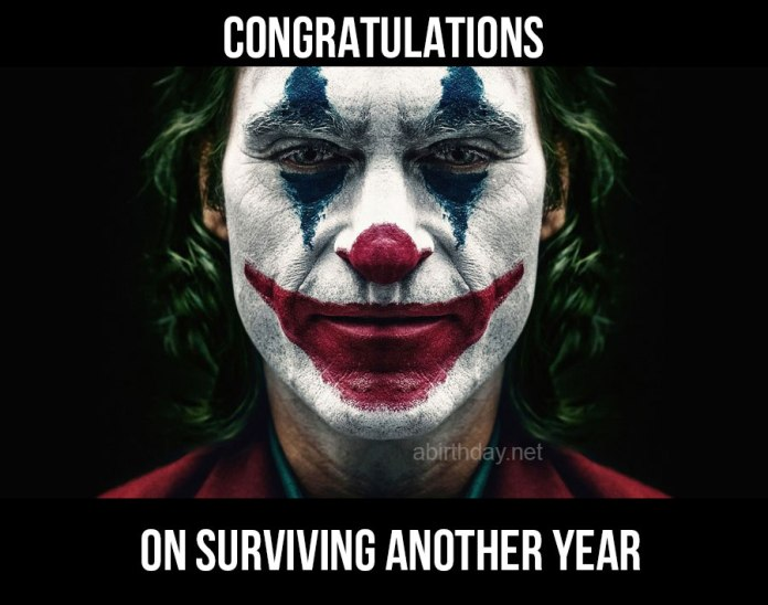 Joker Birthday Meme