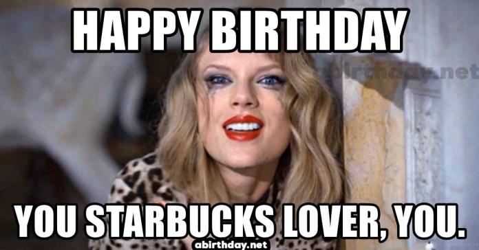 Taylor Swift funny birthday meme
