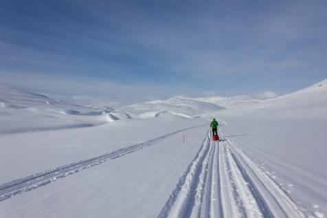 Abfahrt vom Samilager